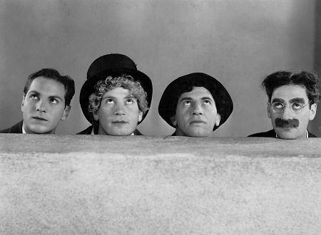 Groucho Marx, Harpo Marx, Chico Marx, Zeppo Marx, Paramount Photo, circa 1930, **I.V.