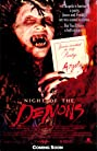 Night of the Demons (1988) Poster