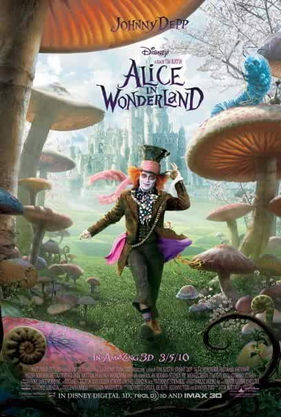 Alice In Wonderland 2010 720p BRRip English Watch Online Free Download