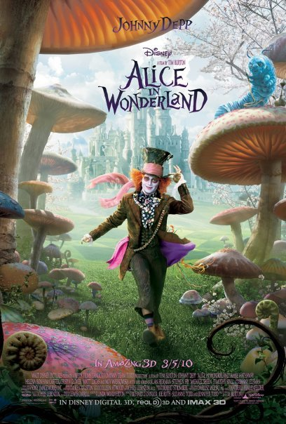 Johnny Depp in Alice in Wonderland (2010)