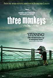 Three Monkeys cartel de la película