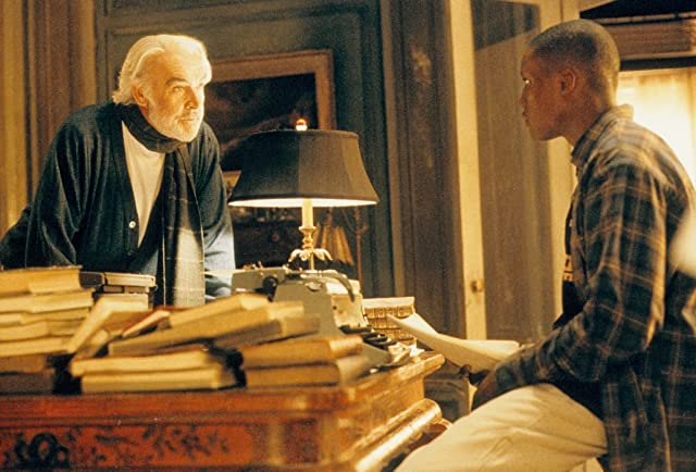 Sean Connery and Rob Brown in Finding Forrester (2000)