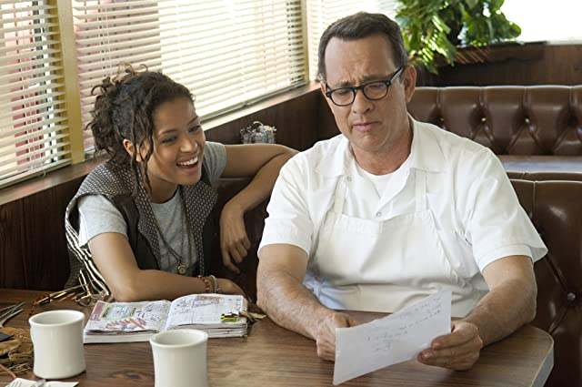 Tom Hanks and Gugu Mbatha-Raw in Larry Crowne (2011)