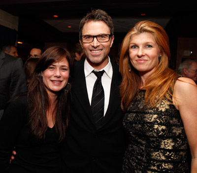 Tim Daly, Maura Tierney, and Connie Britton