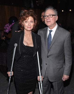 Susan Sarandon and Barry Levinson at You Don't Know Jack (2010)