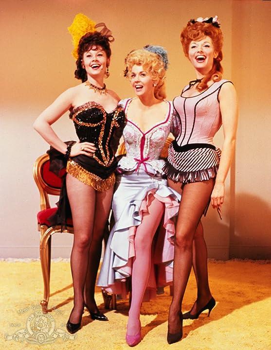 Donna Douglas, Nancy Kovack, and Sue Ane Langdon in Frankie and Johnny (1966)