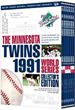 1991 World Series Atlanta Braves vs Minnesota Twins