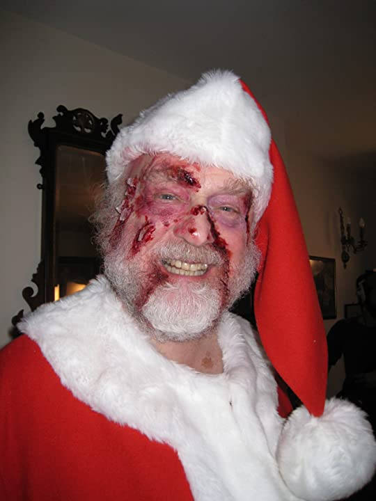 Father Christmas played by Eryl Lloyd Parry