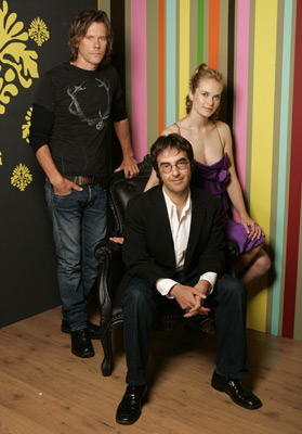 Kevin Bacon, Atom Egoyan, and Rachel Blanchard at Where the Truth Lies (2005)