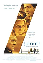 Proof (2005) Poster - Movie Forum, Cast, Reviews