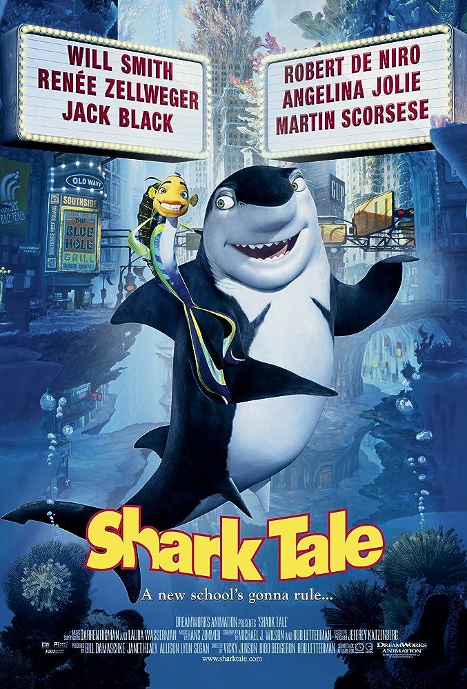 Shark Tale (2004) Cover