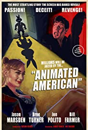 Animated American Poster