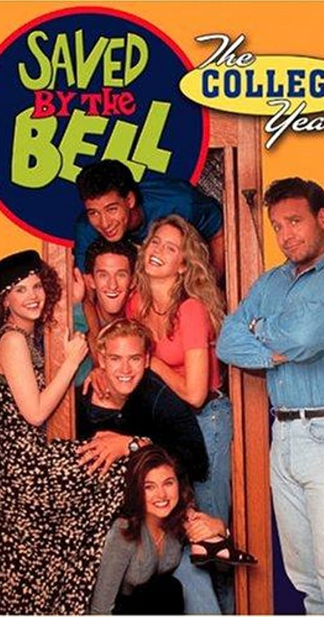 Saved By The Bell The College Years Tv Series 19931994 -1985