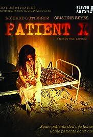 Patient X Poster