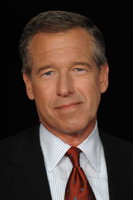 Brian Williams at an event for Wall Street: Money Never Sleeps (2010)