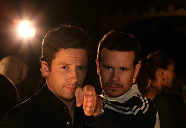 Ross McCall and Alex Ranarivelo in Alpha Males Experiment (2009)