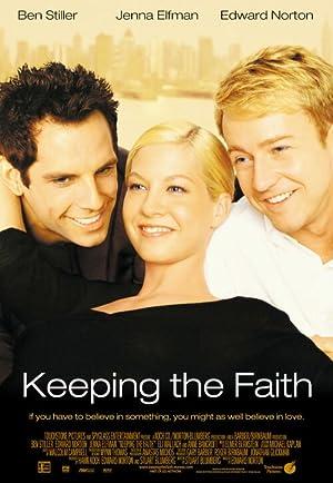 Poster Glauben ist alles!