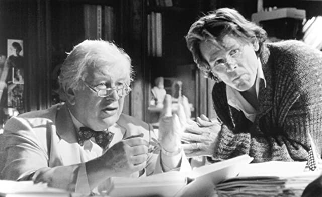 Nick Nolte and Peter Ustinov in Lorenzo's Oil (1992)