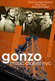 Gonzo Music Diaries, NYC Poster