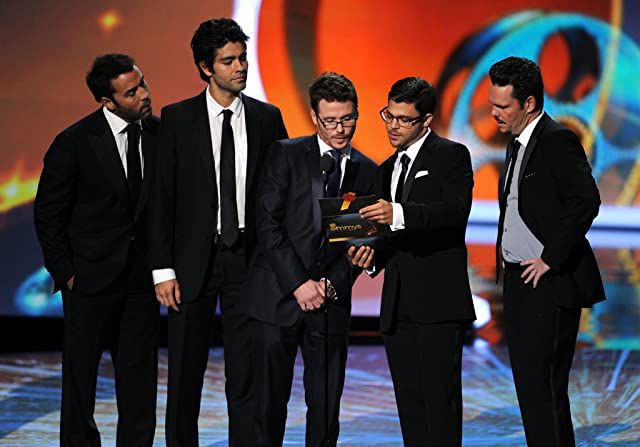 Kevin Dillon, Adrian Grenier, Jeremy Piven, Kevin Connolly, and Jerry Ferrara at The 63rd Primetime Emmy Awards (2011)