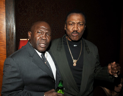 Joe Frazier and Emile Griffith at Ring of Fire: The Emile Griffith Story (2005)