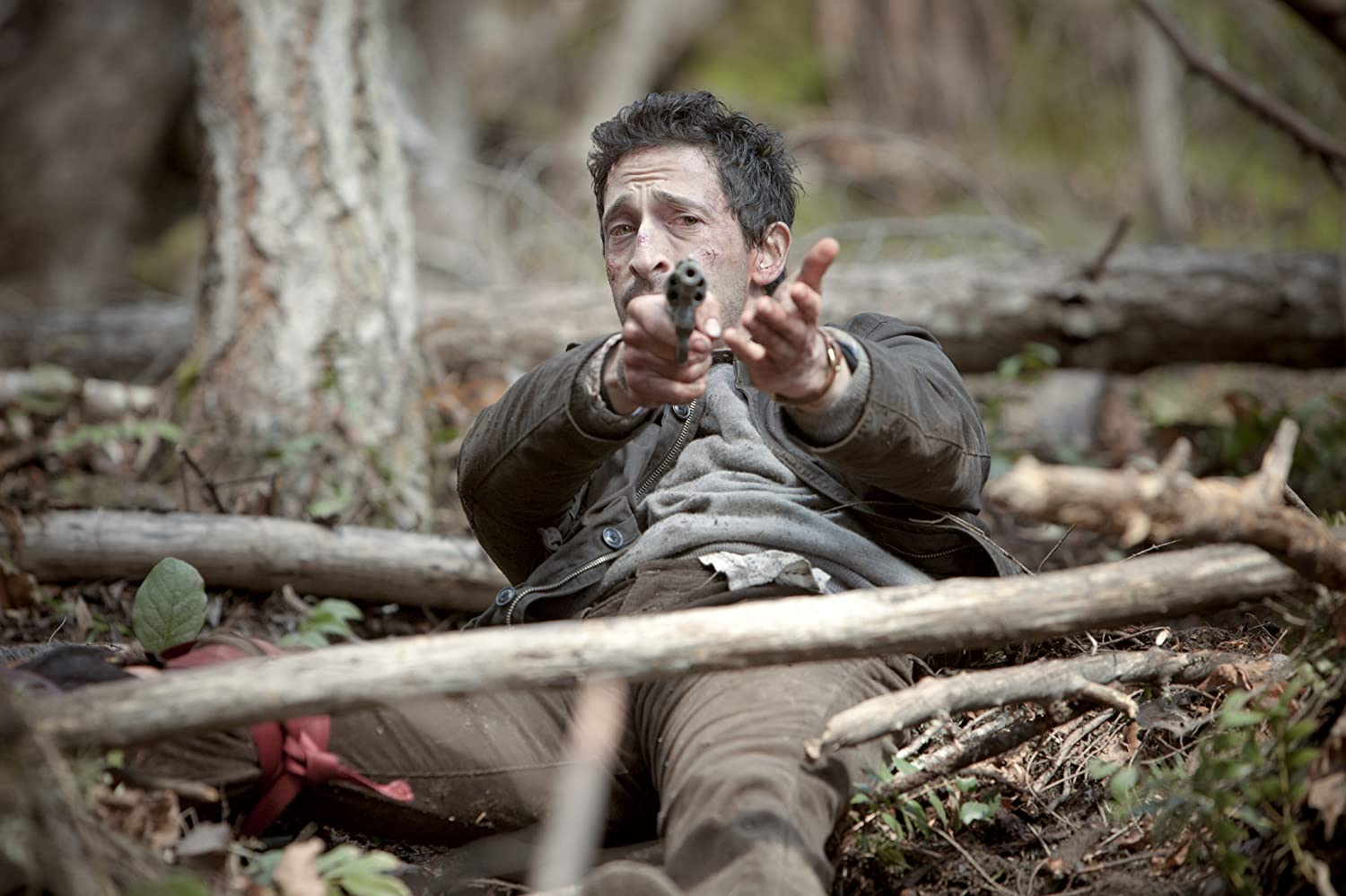 "Adrien Brody as ""Man"" in Wrecked (2010 Film, Canada)"