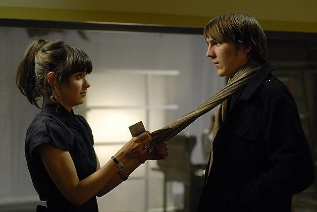 Paul Dano and Zooey Deschanel in Gigantic (2008)