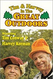Tim and Harvey in the Great Outdoors Poster