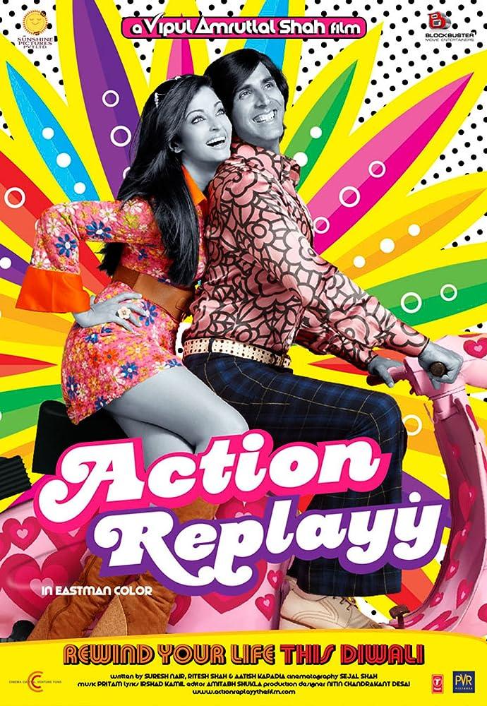 Action Replay 2010 Hindi 720p BluRay 300MB Movies