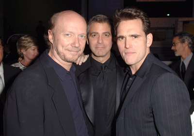 George Clooney, Matt Dillon, and Paul Haggis