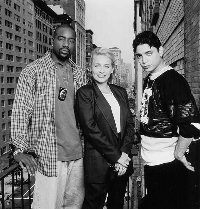 Patti D'Arbanville, Michael DeLorenzo, and Malik Yoba in New York Undercover (1994)