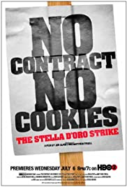 No Contract, No Cookies: The Stella D'Oro Strike Poster
