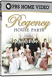 The Regency House Party Poster