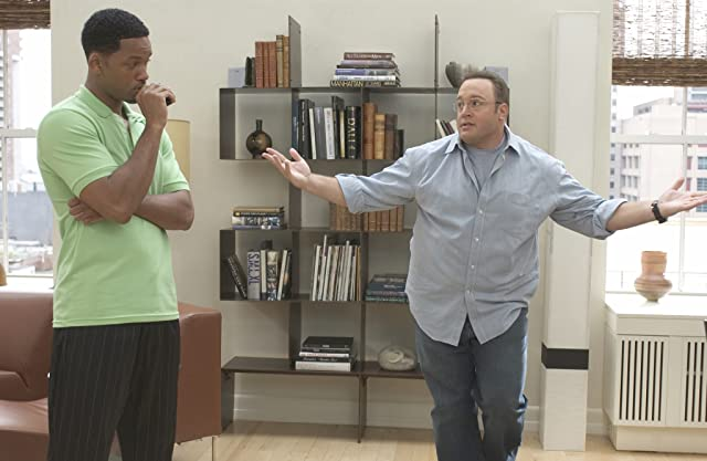 Will Smith and Kevin James in Hitch (2005)