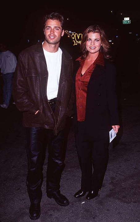 Yasmine Bleeth and David Charvet