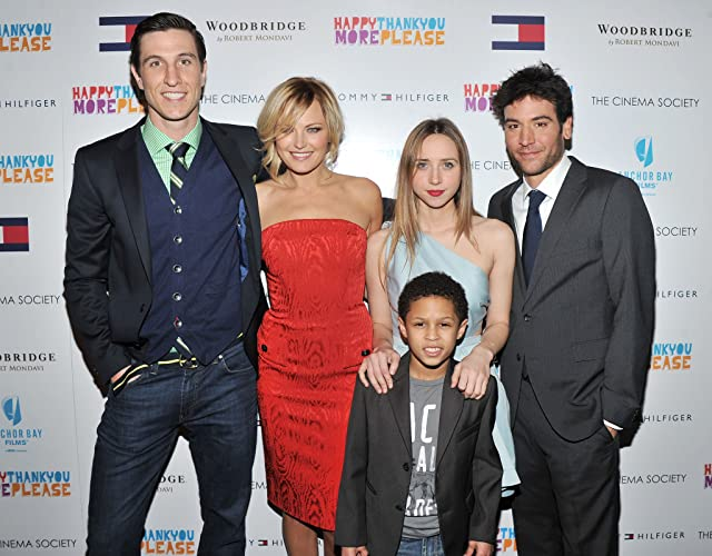 Malin Akerman, Pablo Schreiber, Josh Radnor, Zoe Kazan, and Michael Algieri at Happythankyoumoreplease (2010)