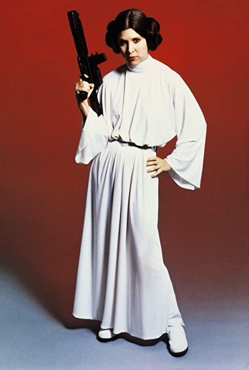 Carrie Fisher in Star Wars: Episode IV - A New Hope (1977)
