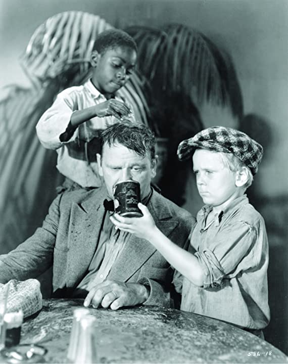 Wallace Beery, Jackie Cooper, and Jesse Scott in The Champ (1931)