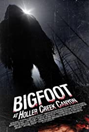 Bigfoot at Holler Creek Canyon Poster