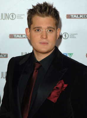 Michael Bublé at The 35th Annual Juno Awards (2006)