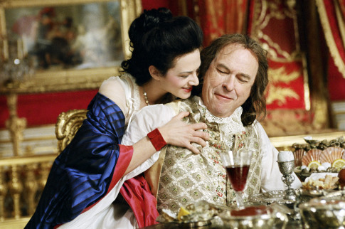 Asia Argento and Rip Torn in Marie Antoinette (2006)