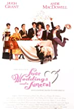 Primary image for Four Weddings and a Funeral