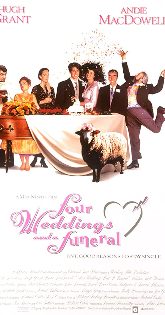 Four Weddings and a Funeral (1994) - IMDb