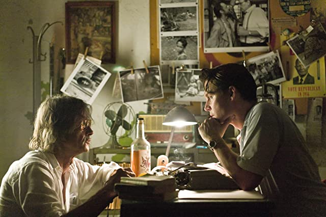 Johnny Depp and Bruce Robinson in The Rum Diary (2011)