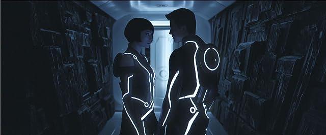 Olivia Wilde and Garrett Hedlund in Tron: Legacy (2010)