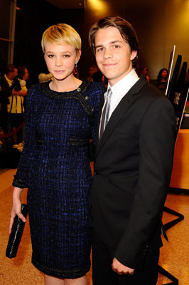 Carey Mulligan and Johnny Simmons at an event for The Greatest (2009)