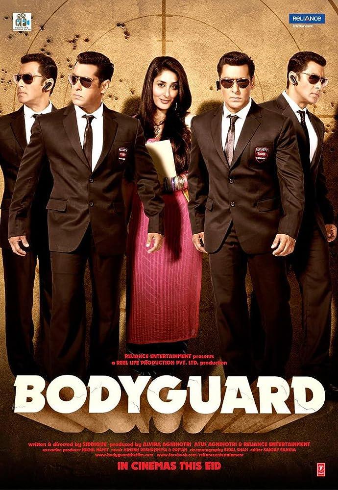 Bodyguard 2011 Hindi 720p BluRay 300MB Movies