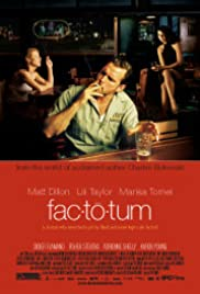 Factotum (2005) Poster - Movie Forum, Cast, Reviews