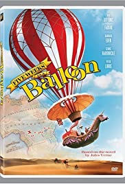 Five Weeks in a Balloon (1962) Poster - Movie Forum, Cast, Reviews