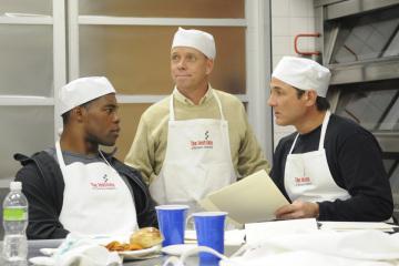 Clint Black, Scott Hamilton, and Herschel Walker in The Apprentice (2004)